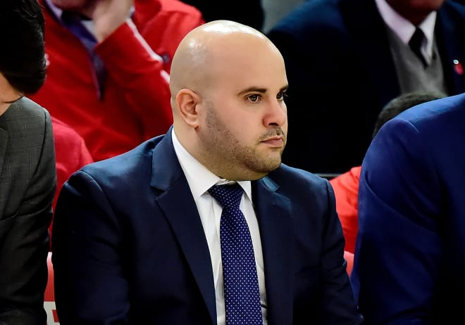 NU assistant Matt Abdelmassih said coaches needed to rely on relationships now more than ever on the recruiting front.