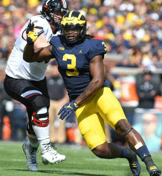 Michigan LB Elysee Mbem-Bosse Posts Threatening Twitter Rant, Tags Jim Harbaugh