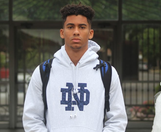 California wide receiver Jalen McMillan is set to visit Notre Dame in October.
