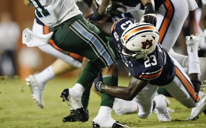 AuburnSports - Roger McCreary emerging as reliable 3rd cornerback after 'hell of a game'
