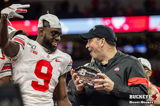 The Buckeyes defeated Wisconsin in the Big Ten Championship game