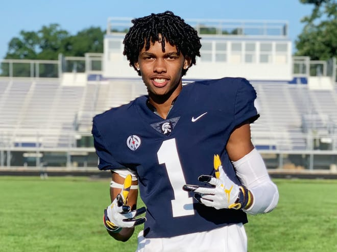 In-state wide receiver Andrel Anthony holds a Michigan Wolverines football recruiting offer from Jim Harbaugh.