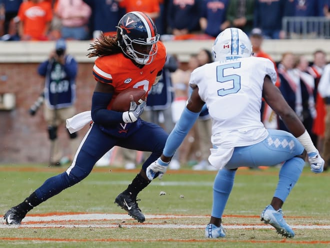 No nailbiter as Virginia cruises to 31-21 win over Tar Heels
