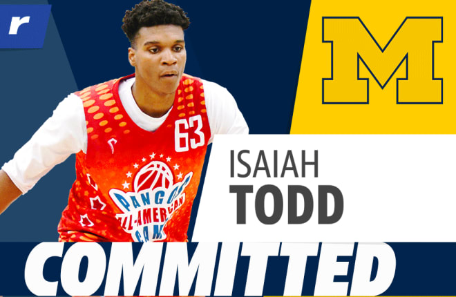 Michigan Basketball Recruiting: Impact of Isaiah Todd's commitment