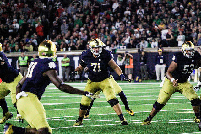 Tranquill named Irish captain as Notre Dame opens spring practice