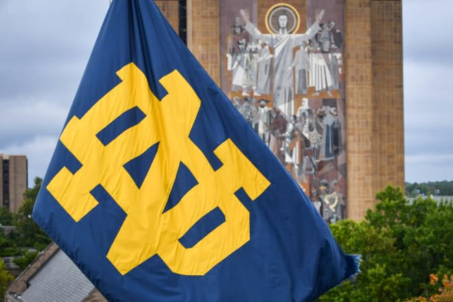 Touchdown Jesus on the campus of Notre Dame