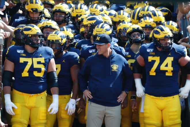 TheWolverine - Harbaugh Will Keep 'Feeding Winning Keys' To His Team Heading Into Bye Week
