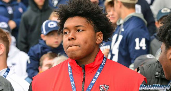 Wallace has now taken five unofficial visits to Penn State since earning an offer in February.