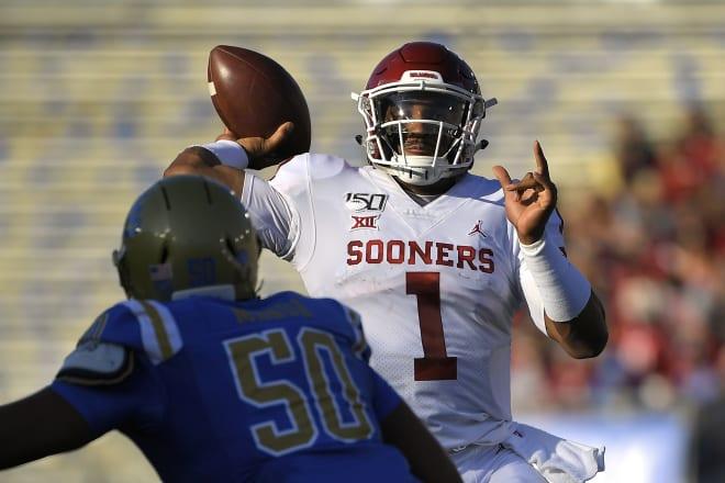 SoonerScoop - College Fantasy Football: The five best QBs through Week 3