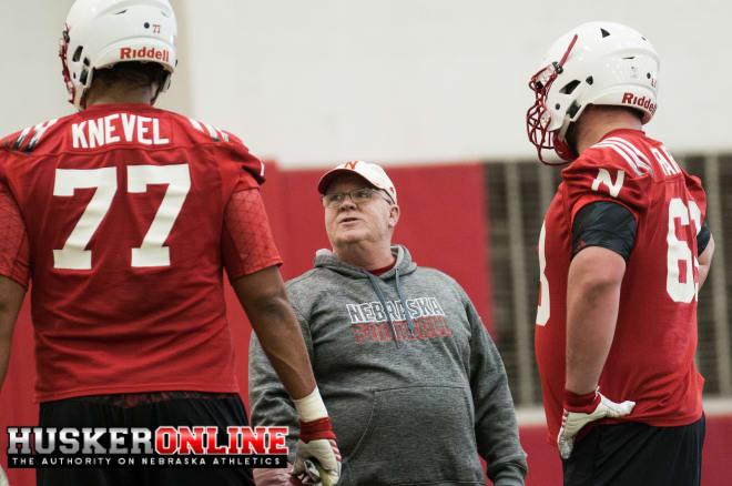 OL Coach Mike Cavanaugh