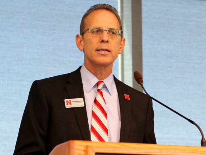 Dennis Leblanc and his academic team have improved Nebraska's overall student athlete graduation rate from 86 to 90 percent over the last few years.