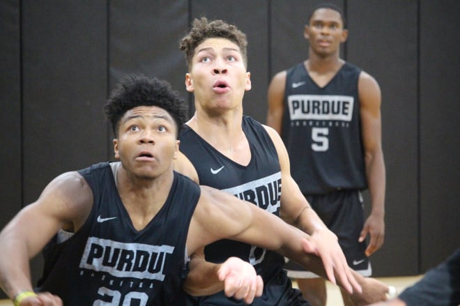 Purdue will play in front of a crowd in Mackey Arena for the first time this season on Saturday.