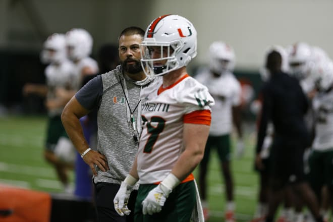 CaneSport - Blake Baker on Thurs.: Still feels good about DT despite Silvera surgery