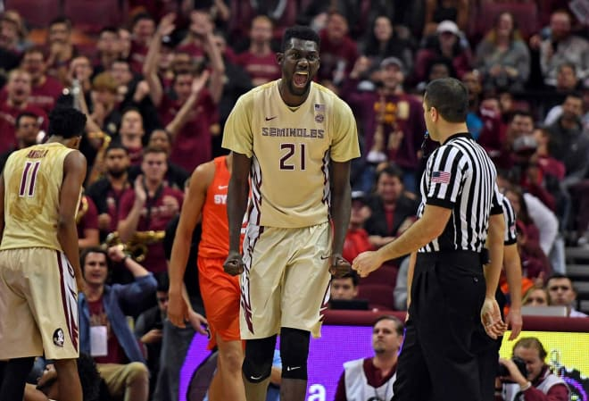 Christ Koumadje scored a career-high 23 points in FSU's double-overtime victory