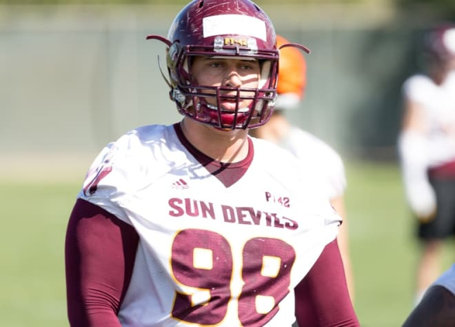 ASUDevils - D.J. Davidson bouncing back from injury-shortened 2018 with confidence