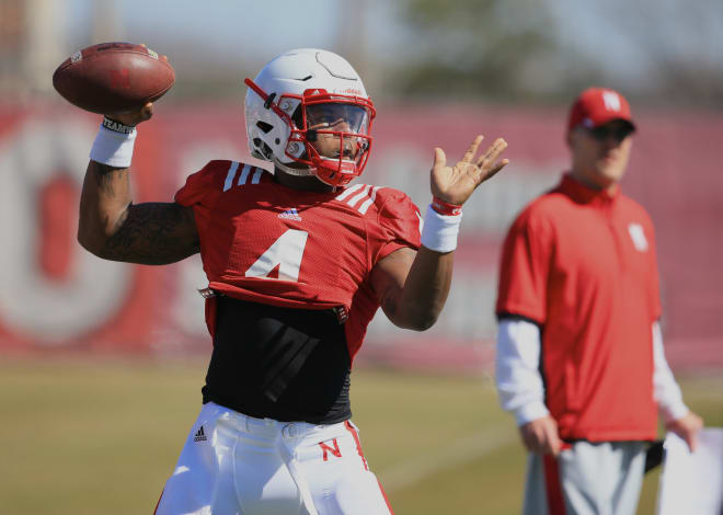 Nebraska's first few bowl practices will be focused mostly on getting back to football, Riley said.