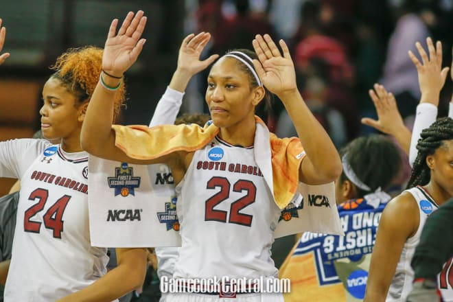 A'ja Wilson Named AP Player of the Year