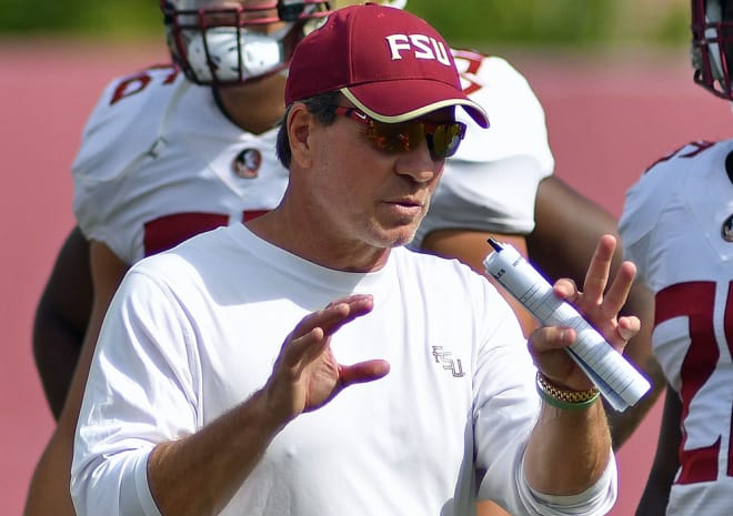 Jimbo Fisher and Florida State will return to the practice field for the first time in nearly a week on Tuesday.