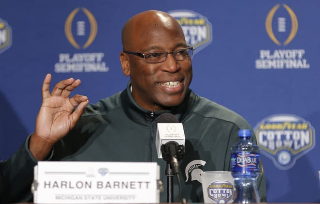 Florida State to hire Michigan State DC Harlon Barnett to same position