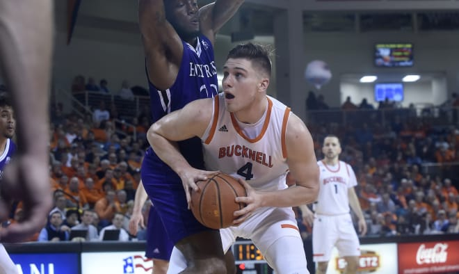 Bucknell grad transfer Nate Sestina picks UK