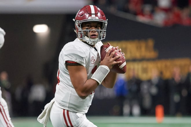 Nick Saban addresses comments from Jalen Hurts' father