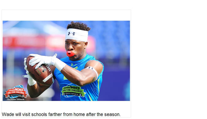 Rivals com - 5-star Wade gives the latest