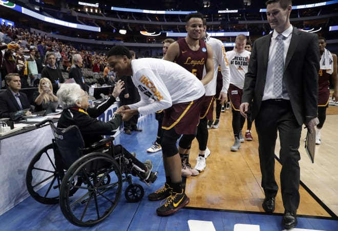 Jalen Rose's Grandma Takes on Sister Jean Over NCAA Matchup