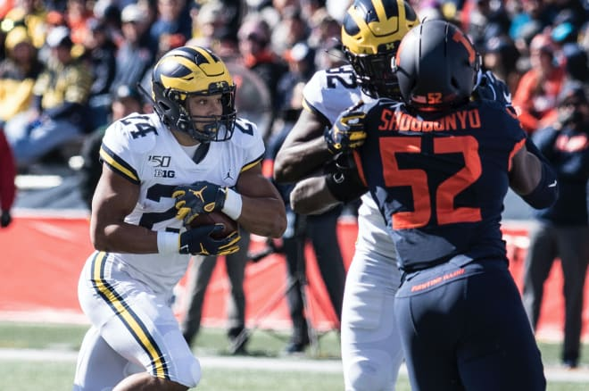 TheWolverine - Monday Morning Quarterbacking: RB Duo Of Charbonnet, Haskins Shined In Win