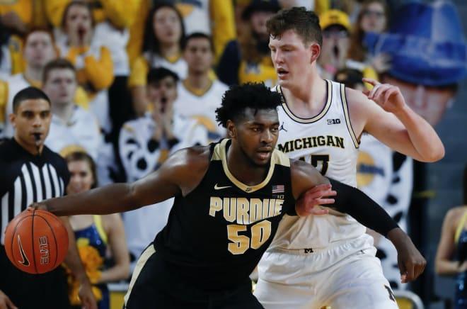 Michigan Wolverines Basketball Players Teske And Bajema
