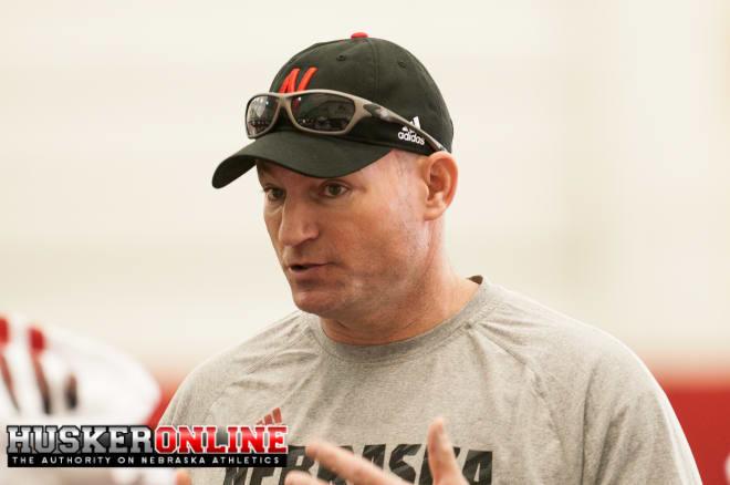 Defensive line coach John Parrella