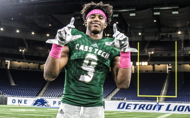 The top player in the state of Michigan, five-star wide receiver Donovan Peoples-Jones, will announce his college decision on Thursday.