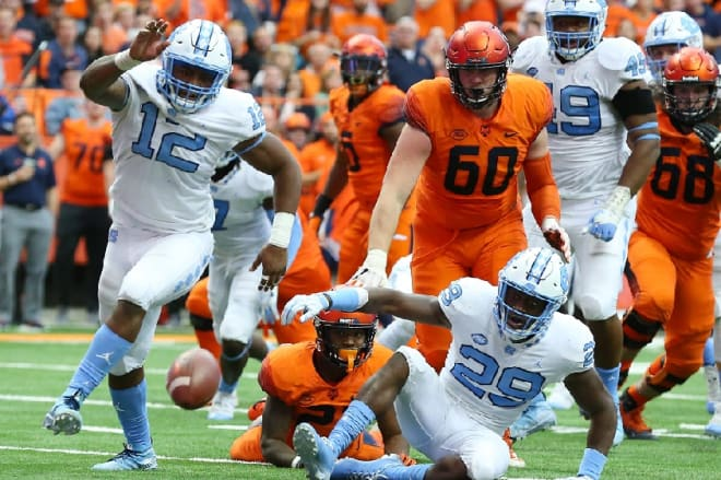Tomon Fox is excited UNC's new defense suits his skills more to help the Tar Heels win games this fall.