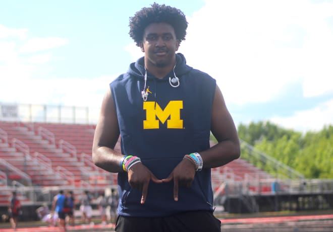 Chicagoland linebacker Tyler McLaurin is committed to Michigan Wolverines football recruiting, Jim Harbaugh.