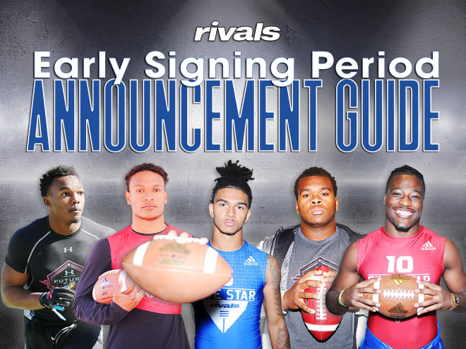 Rivals Com Early Signing Period Announcement Guide