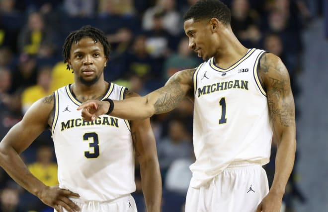 Zavier Simpson and Charles Matthews have U-M on the cusp of a Big Ten title.