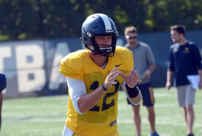 Austin Kendall will be the starter at quarterback for the West Virginia Mountaineers football team.