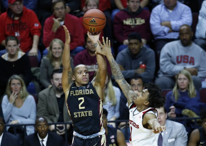 Sophomore guard C.J. Walker scored 24 points in FSU's win Tuesday night at Rutgers.