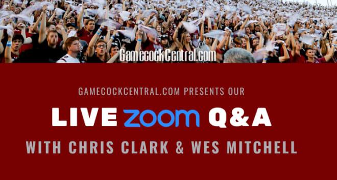 South Carolina football: Live Gamecocks chat at noon
