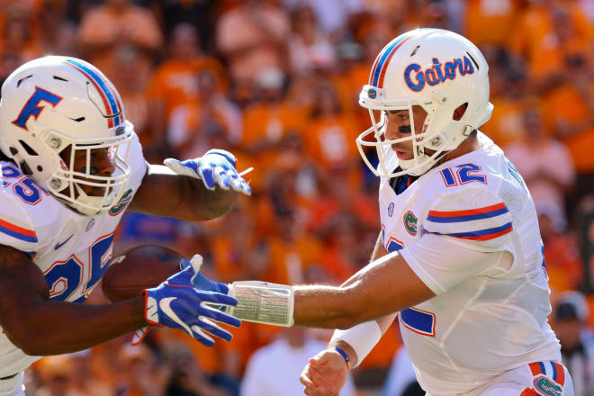 Appleby's first start as a Gator came on the road at Tennessee on Sept. 24.