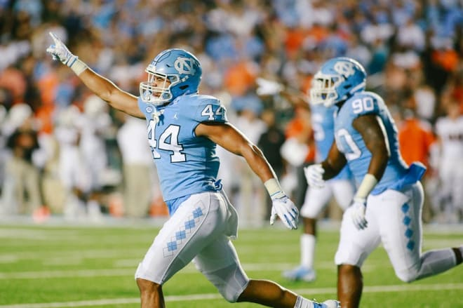 UNC now has four inside linebackers defensive coordinator Jay Bateman trusts, offsetting an area that was not long ago a big concern.