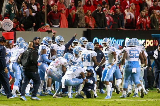 The 2019 football season was a grind, but the Tar Heels fought through and earned something tangible in the process.
