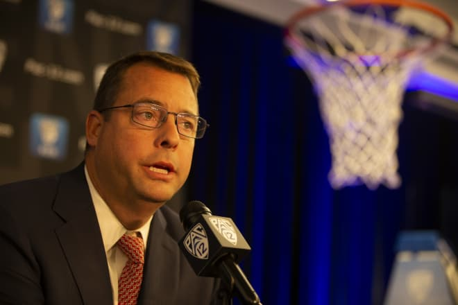 Pac-12 Media Day Q&A Jerod Haase