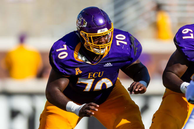 ECU offensive lineman Cortez Herrin has been granted a medical hardship waiver that will restore an additional year of eligibility.