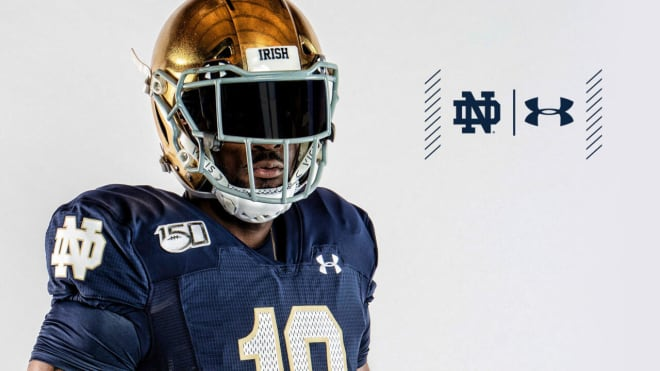 The alternate uniform will be worn versus Boston College on Nov. 23.