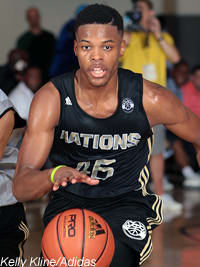 Basketball Recruiting - Adidas Nations: Saturday A M  news and notes