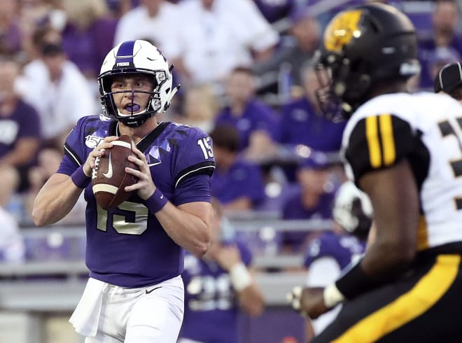 Freshman Max Duggan is one of at least two quarterbacks Purdue will likely see vs. TCU.
