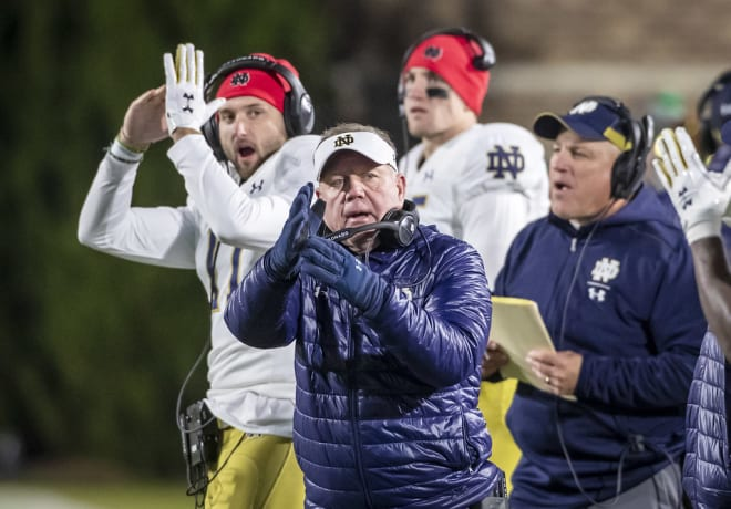 Notre Dame Football's Sellout Streak Is Reportedly Ending On Saturday