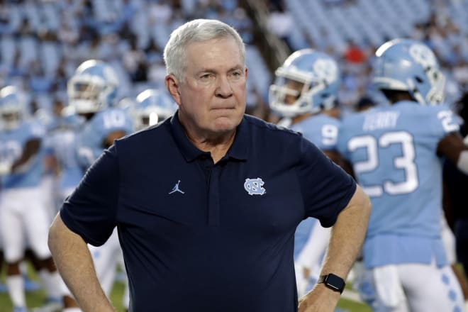 Mack Brown is entering his second season of his second stint with the Tar Heels.
