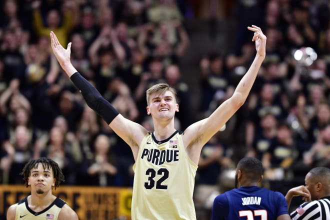 Matt Haarms is one of Purdue's most important players in 2019-2020.