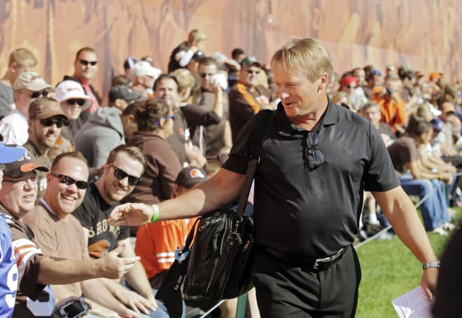 Jon Gruden's return building steam - but not to NFL